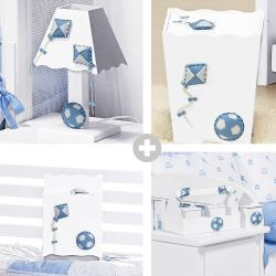 Kit Higiene Doce Infância Azul