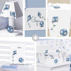 Kit Higiene Completo Doce Infância Azul