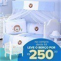 Kit Berço Leãonardo + Berço Mila