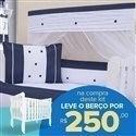Kit Berço Jeans + Berço Mila