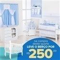Quarto para Bebê sem Cama Babá Topinho + Berço Mila