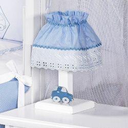 Abajur Topázio Azul
