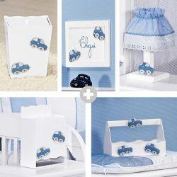 Kit Higiene Completo Topázio Azul
