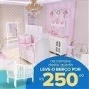 Quarto para Bebê sem Cama Babá Ballerina + Berço Mila