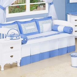 Kit Cama Babá Blue