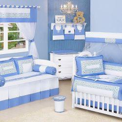 Quarto de Bebê Blue