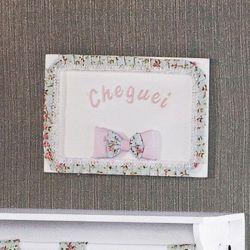 Porta Maternidade Cheguei Laurinha