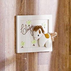 Porta Maternidade Cheguei Horse