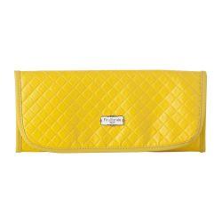 Trocador de Fraldas Portátil Maternidade Pom Pom Amarelo