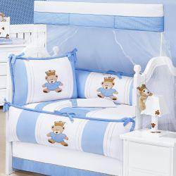 Kit Berço Príncipe Urso Azul