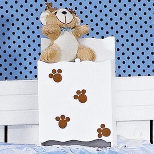 Porta Fraldas Príncipe Urso Azul