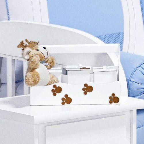 Jogo de Potes Príncipe Urso Azul