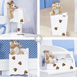 Kit Higiene Príncipe Urso Azul