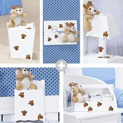 Kit Higiene Completo Príncipe Urso Azul