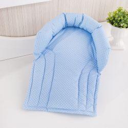 Protetor para Cabeça Bebê Azul Poá