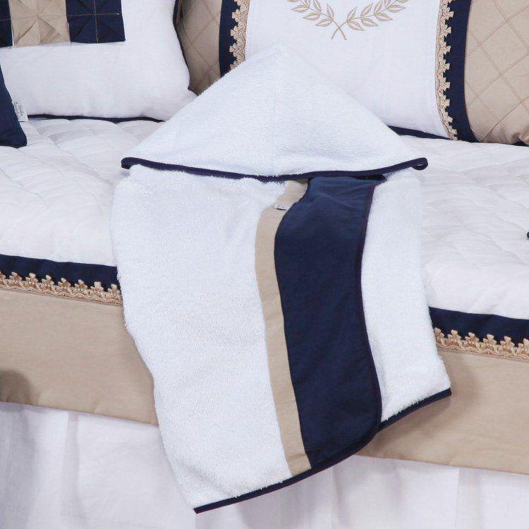 5fd9d95062 Quarto de Bebê sem Cama Babá Realeza Azul Marinho