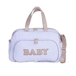 Bolsa Maternidade New Baby Branco 44cm