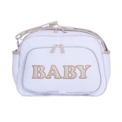 Bolsa Maternidade New Baby Branco 33cm