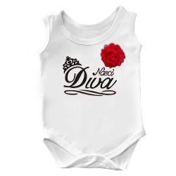Body Regata Nasci Diva Branco