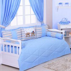 Kit Cama Babá Stars Azul