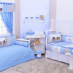 Quarto de Bebê Stars Azul