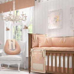 Quarto de Bebê Realeza Rosé Premium