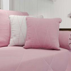 Almofadas Realeza Rosa Premium 2 Peças