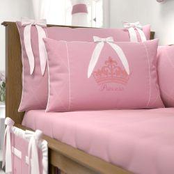 Mini Cabeceira Princesa Rosa Premium