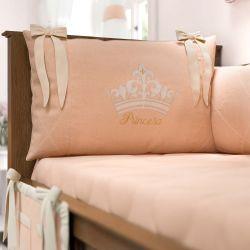 Kit Berço Princesa Rosé Premium