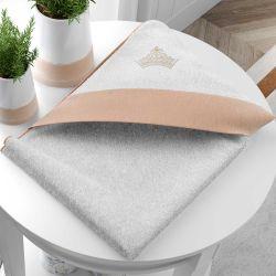 Toalha com Capuz Princesa Rosé Premium