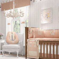 Quarto de Bebê Princesa Rosé Premium