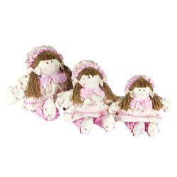 Bonecas Neném Floral
