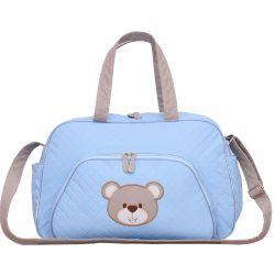 Bolsa Maternidade Urso Fofinho Azul G