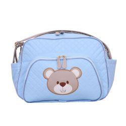 Bolsa Maternidade Urso Fofinho Azul M