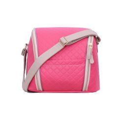 Frasqueira Maternidade Ursa Fofinha Pink 25cm