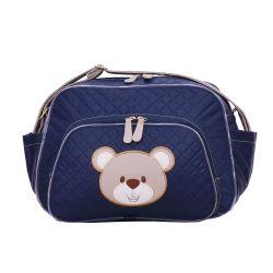 Bolsa Maternidade Urso Fofinho Azul Marinho M