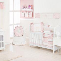 Quarto de Bebê sem Cama Babá Nobless Rosé