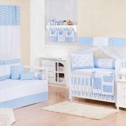 Quarto de Bebê Império Azul
