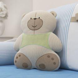 Almofada Urso Nino e a Pipa 40cm