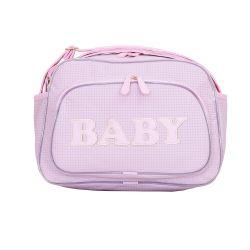 Bolsa Maternidade M New Baby Rosa 33cm