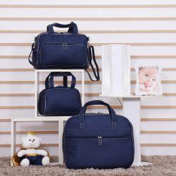 2cb4a9e26 Conjunto de Bolsas Maternidade Djon Azul Marinho