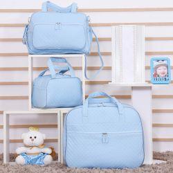 Conjunto de Bolsas Maternidade Djon Azul