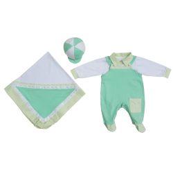 Saída Maternidade Baby Casual Verde