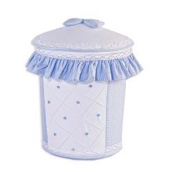 Lixeira Joãozinho Azul Bebê