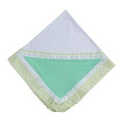 Manta Baby Casual Verde Listrado