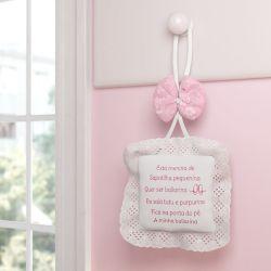 Porta Maternidade Pequena Bailarina