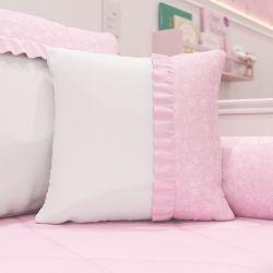 Almofada Pequena Bailarina Branca