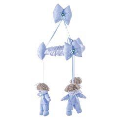 Móbile Joãozinho Azul Bebê