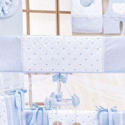 Mosquiteiro Joãozinho Azul Bebê