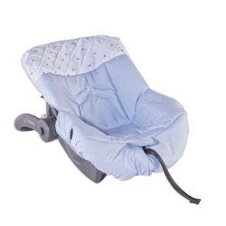 Capa de Bebê Conforto Joãozinho Azul Bebê